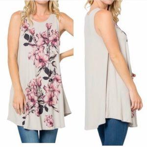 🆕 Women's Sleeveless Sublimation Tunic